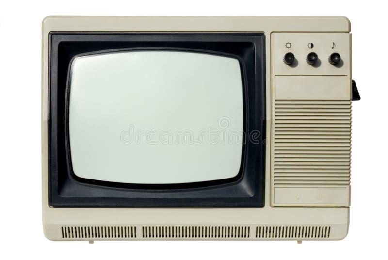 Aparelho de televisão velho imagens de stock