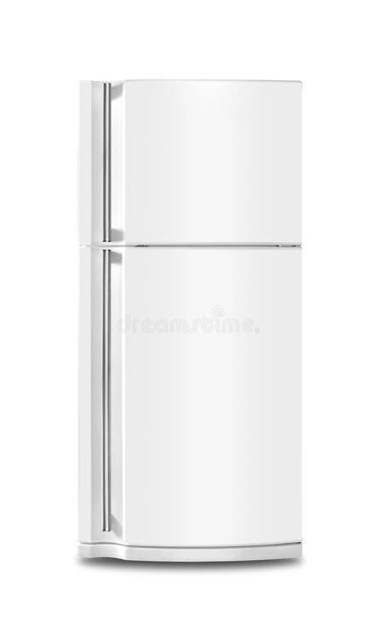 Aparelho eletrodoméstico - refrigerador Isolado imagens de stock