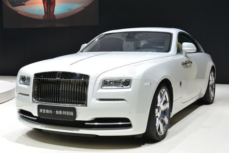 Aparição de Rolls royce - inspirada pela forma fotos de stock