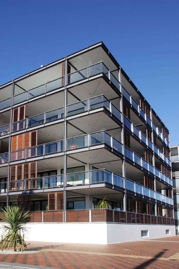 Apartamento Auckland de la línea de costa imagenes de archivo