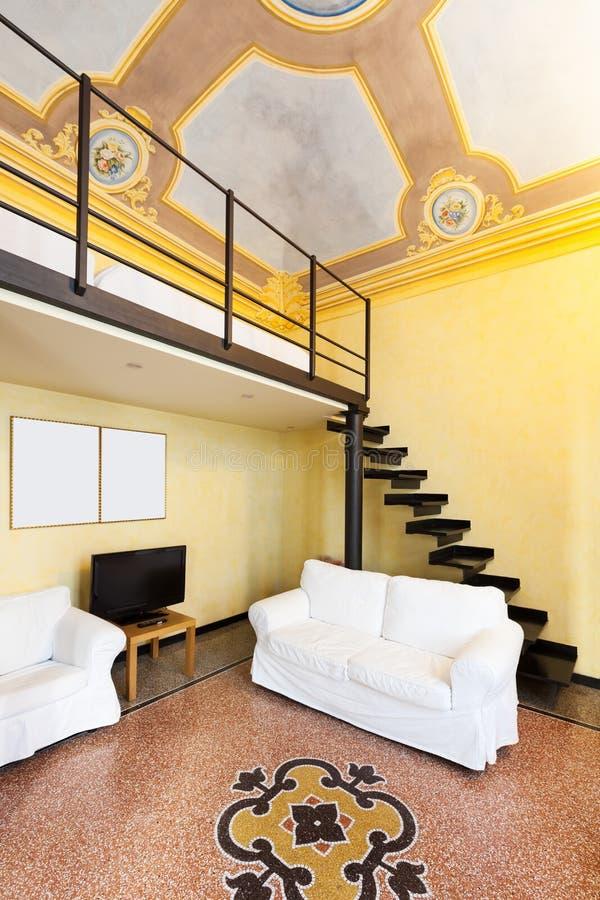 Apartamento bonito interior imagens de stock royalty free