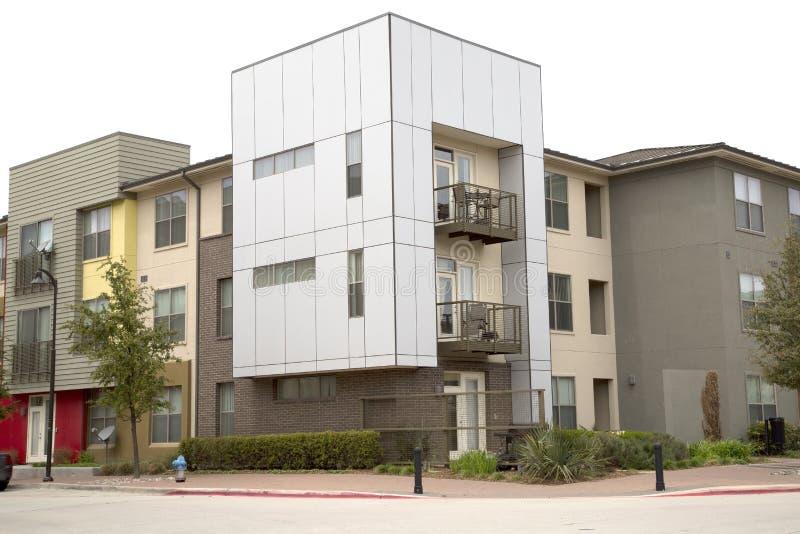 Apartamento consideravelmente novo fotografia de stock royalty free