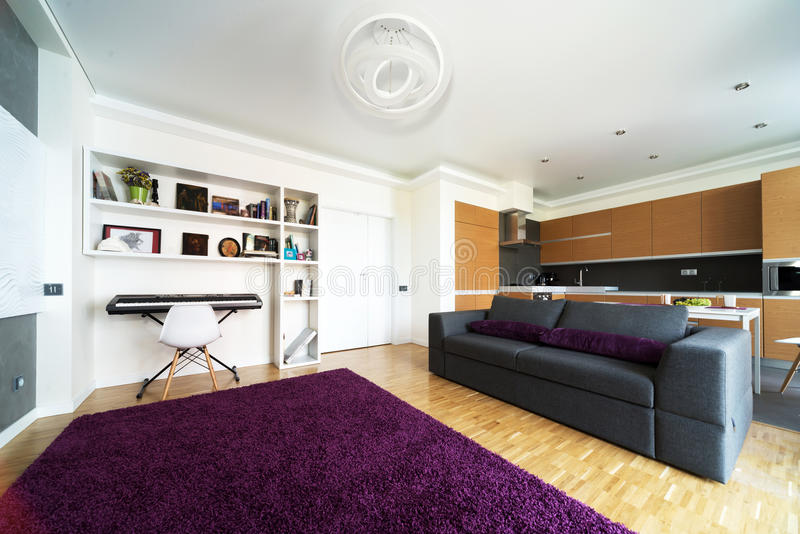 Apartamento de estúdio foto de stock royalty free