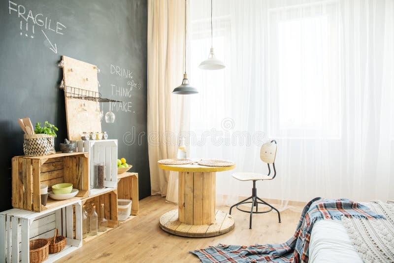Apartamento de estúdio de Eco fotos de stock