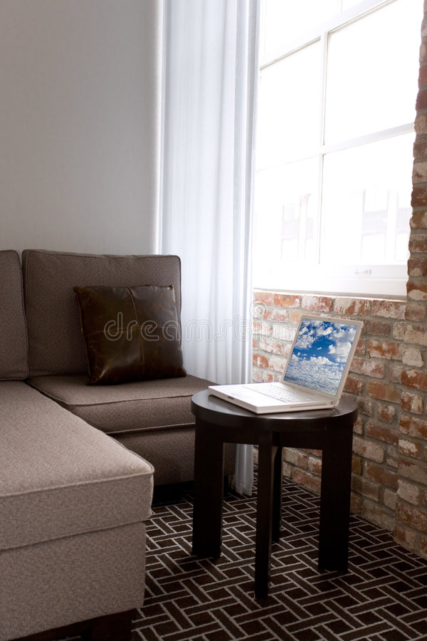 Apartamento de estudio imagen de archivo libre de regalías