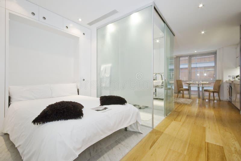 Apartamento de la habitación imagen de archivo