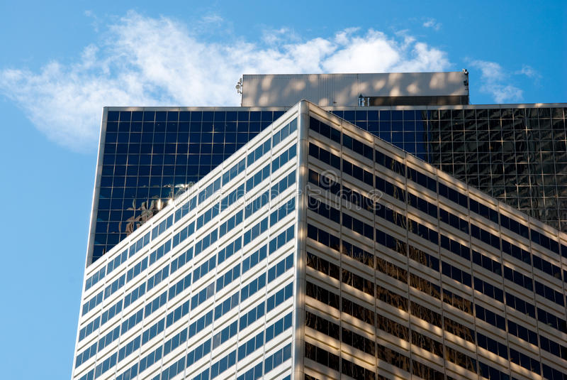 Apartamento de lujo en el cielo imagenes de archivo