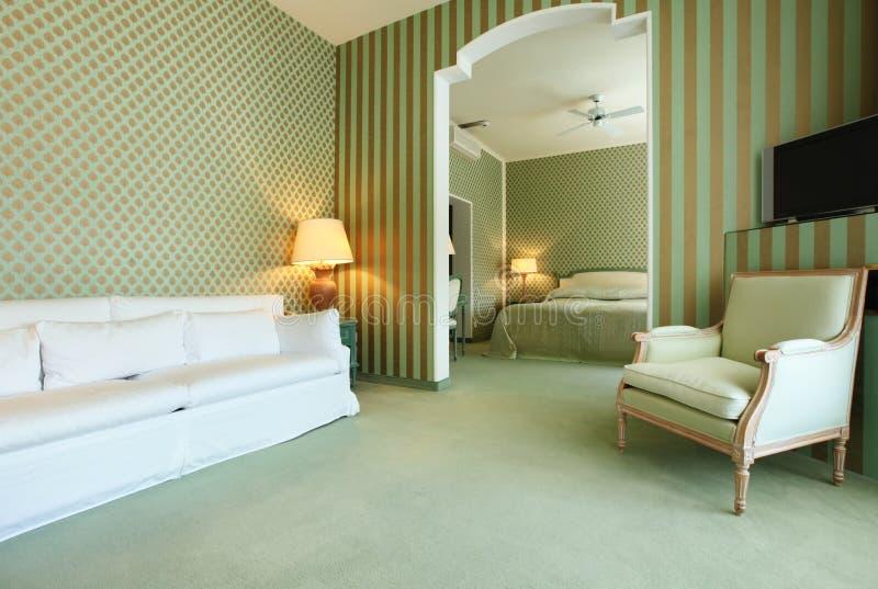 Apartamento de lujo interior imagenes de archivo