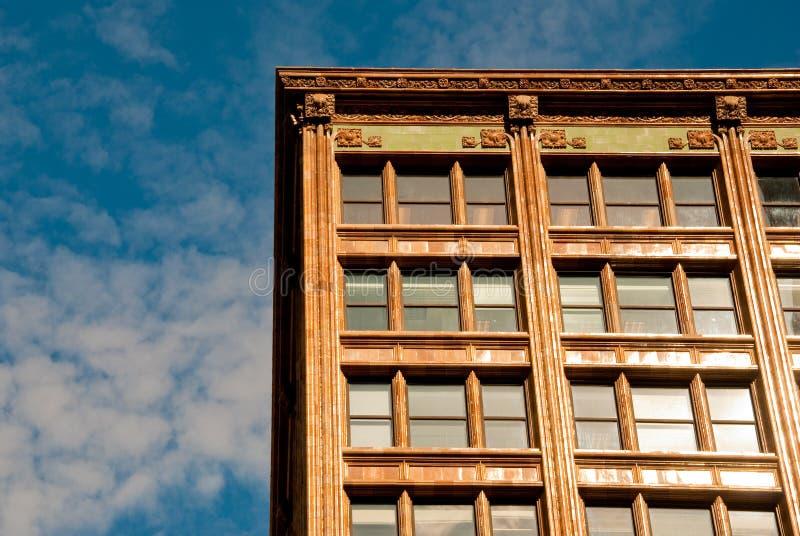Apartamento e céu imagem de stock