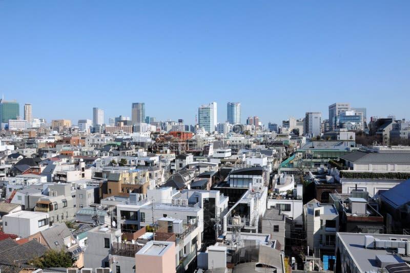 Apartamento e prédios de escritórios no Tóquio Japão foto de stock royalty free