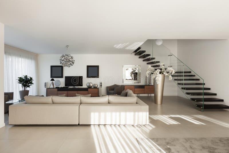 Apartamento hermoso, interior foto de archivo