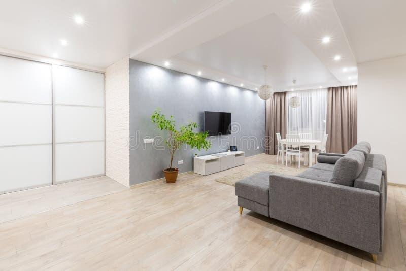 Apartamento limpo housekeeping foto de stock