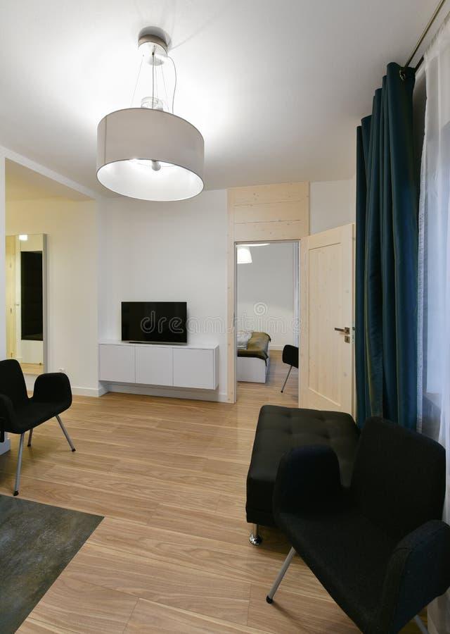 Apartamento moderno fotografia de stock royalty free