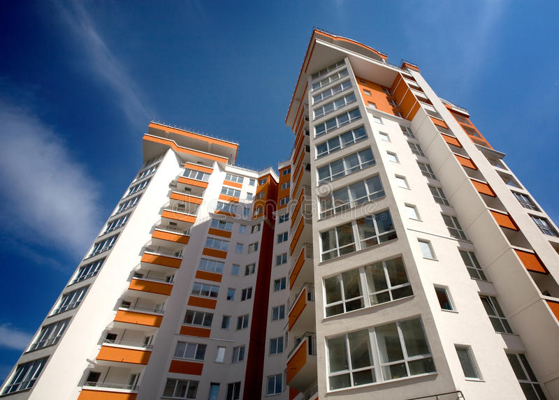 Apartamento moderno foto de stock