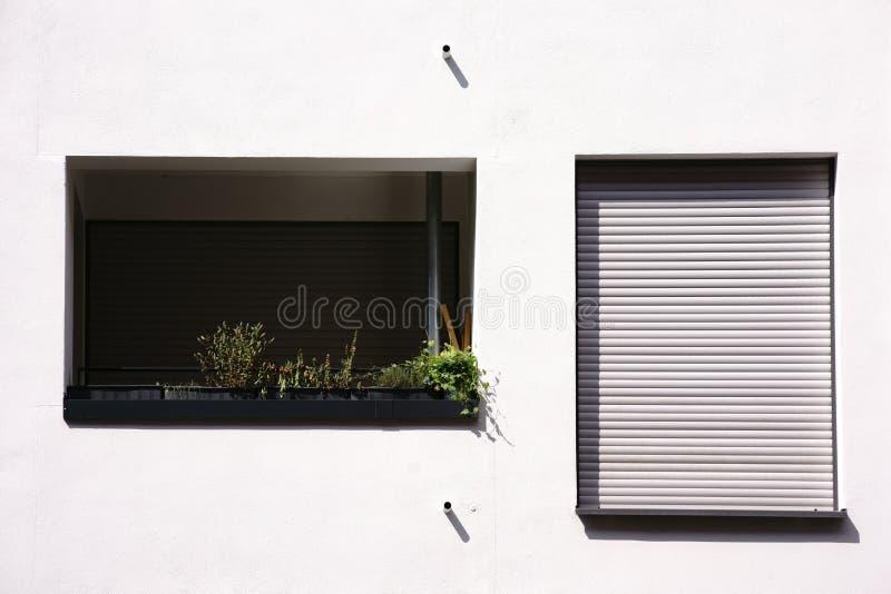 Apartamento moderno do balcão foto de stock