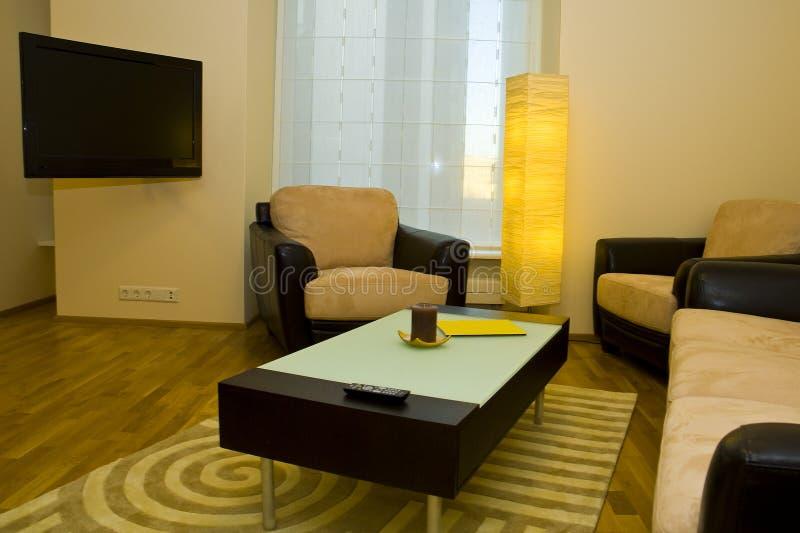 Apartamento moderno pequeno foto de stock