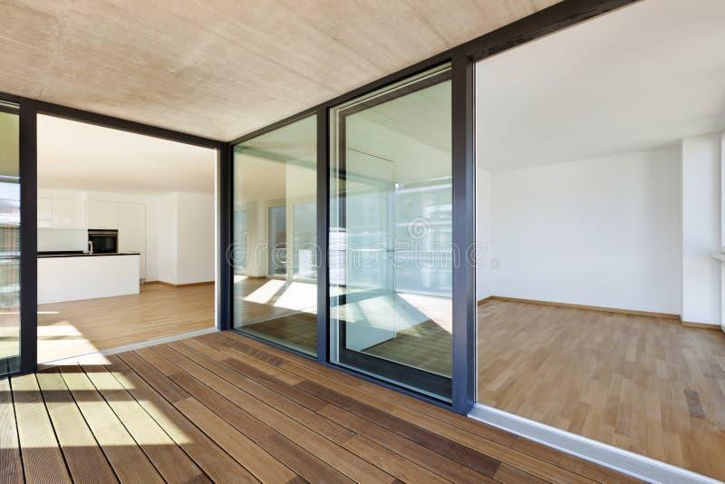 Apartamento novo, imagem de stock