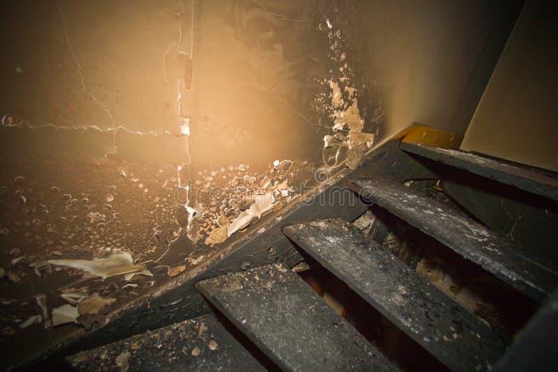 Apartamento quemado foto de archivo libre de regalías