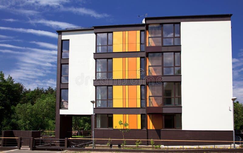 Apartamentos fotografía de archivo