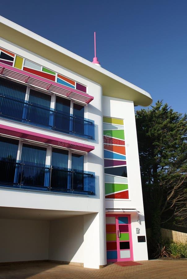 Apartamentos contemporáneos 2 imagen de archivo