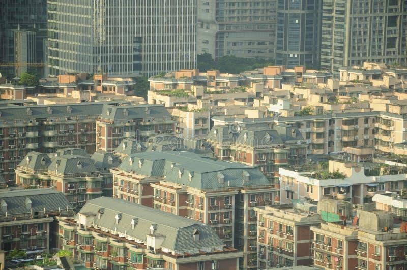 Apartamentos de Guangzhou China imagens de stock royalty free