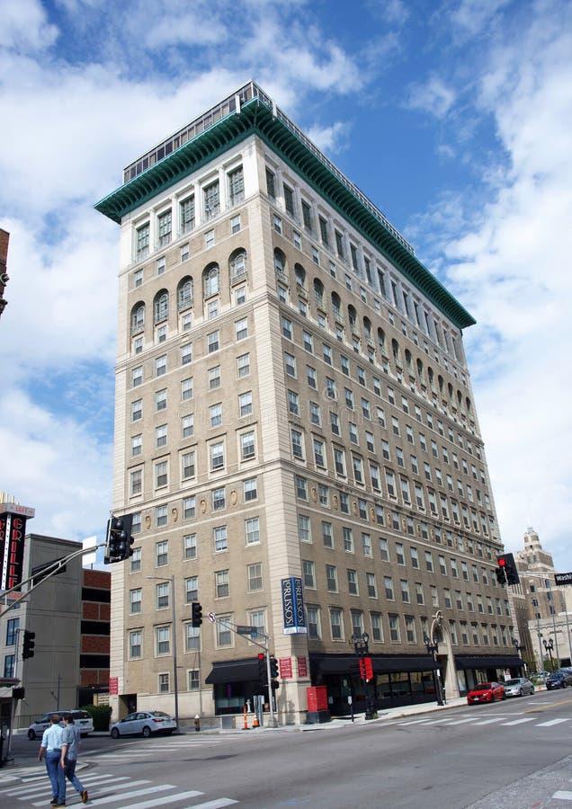 Apartamentos de la plaza de la universidad, St. Louis, Missouri fotografía de archivo
