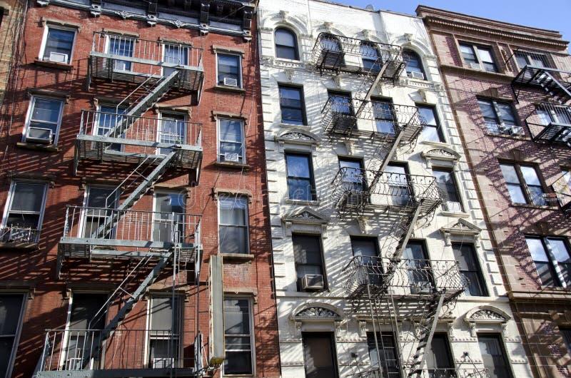 Apartamentos de New York foto de stock royalty free