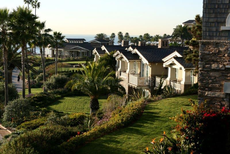 Apartamentos del lujo de la costa imágenes de archivo libres de regalías