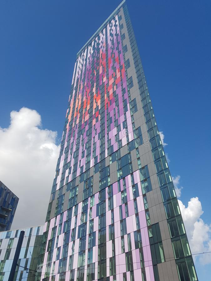 Apartamentos do pináculo, Londres, Reino Unido imagem de stock royalty free