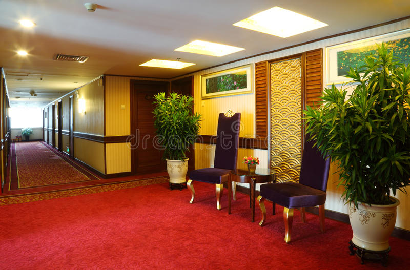 Apartamentos em afiançar o hotel foto de stock royalty free