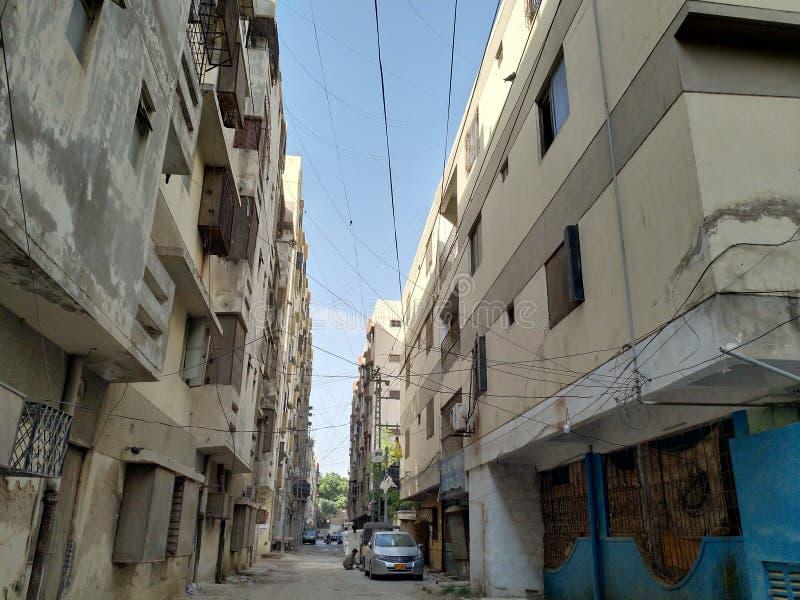 Apartamentos em Hyderabad fotografia de stock