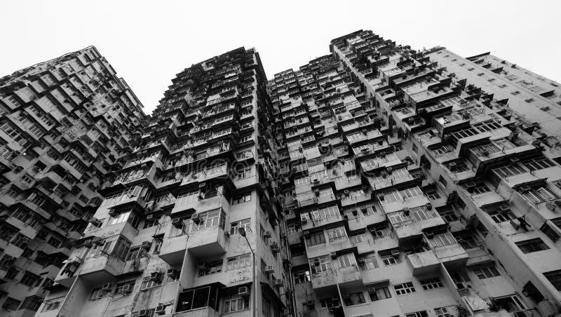 Apartamentos en bahía de la mina imagen de archivo libre de regalías
