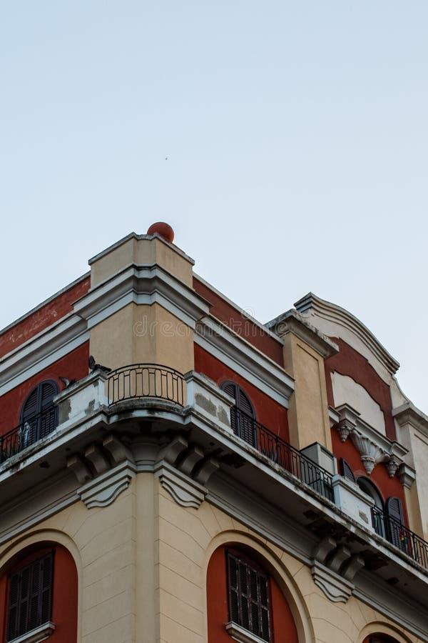 Apartamentos en el centro de ciudad imágenes de archivo libres de regalías