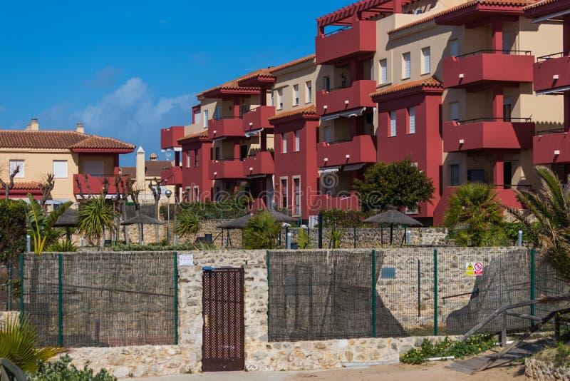Apartamentos espanhóis imagens de stock royalty free