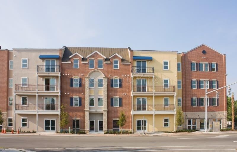 Apartamentos mezclados del estilo fotografía de archivo