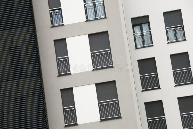 Apartamentos modernos foto de archivo libre de regalías