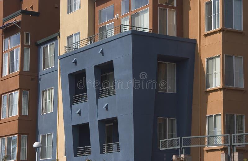 Apartamentos modernos 2 imagem de stock royalty free