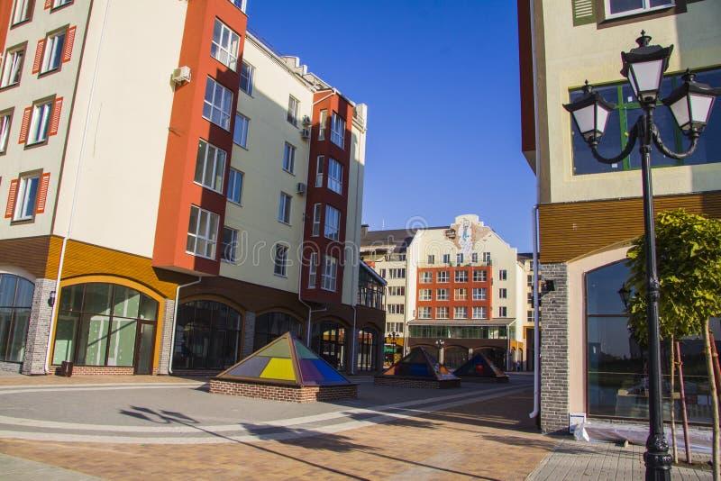Apartamentos modernos fotos de stock