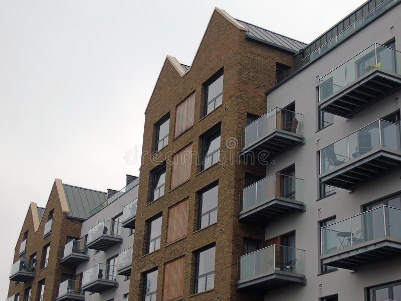 Apartamentos/planos modernos fotografia de stock