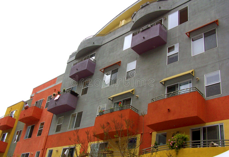 apartamentos Poner en contraste-modernos fotos de archivo libres de regalías