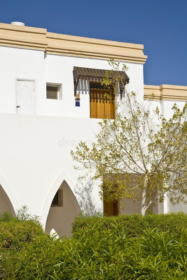 Apartamentos turísticos de la casa de planta baja foto de archivo libre de regalías