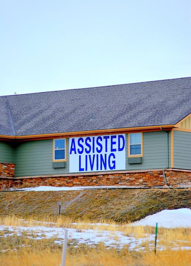 Apartamentos vivos ayudados. imagen de archivo libre de regalías