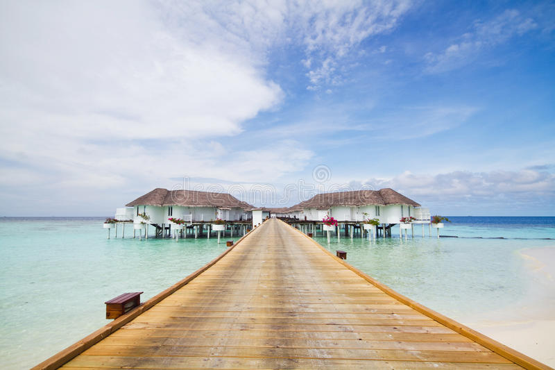 Apartamentu pokój w Maldives zdjęcia stock