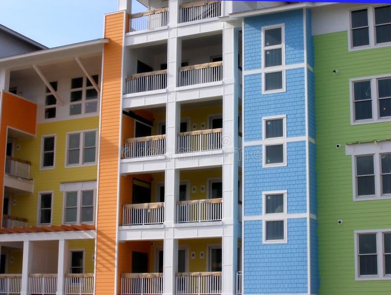 apartamenty kolorów, zdjęcia stock