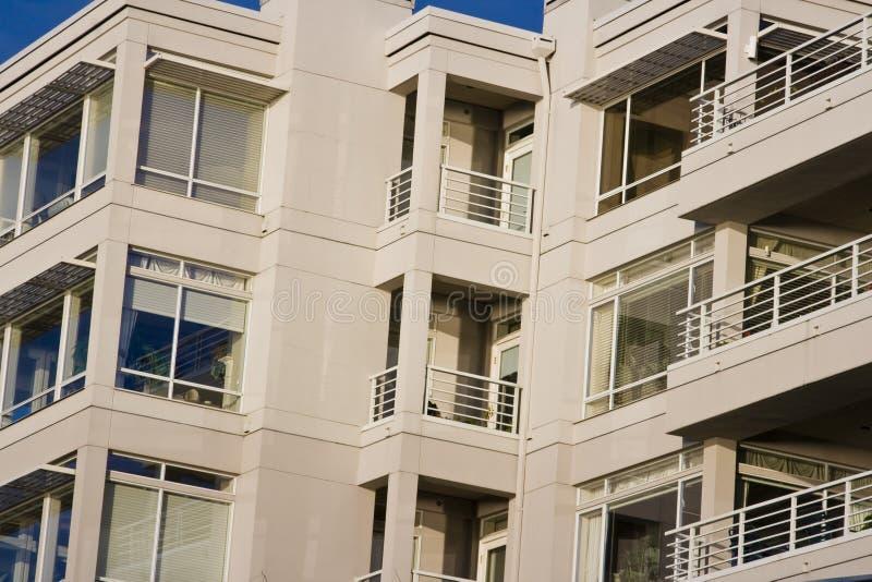 apartamenty nowoczesnego dziś mieszka zdjęcie royalty free