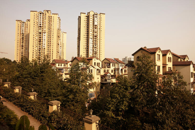 Download Apartment stock photo. Image of city, house, chongqing - 28416642