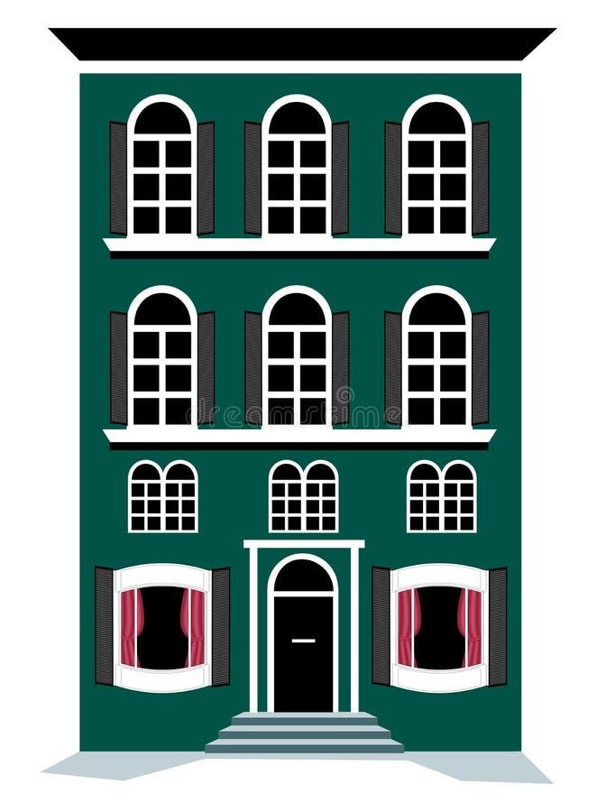 Download Apartment stock illustration. Illustration of roof, windows - 8125536