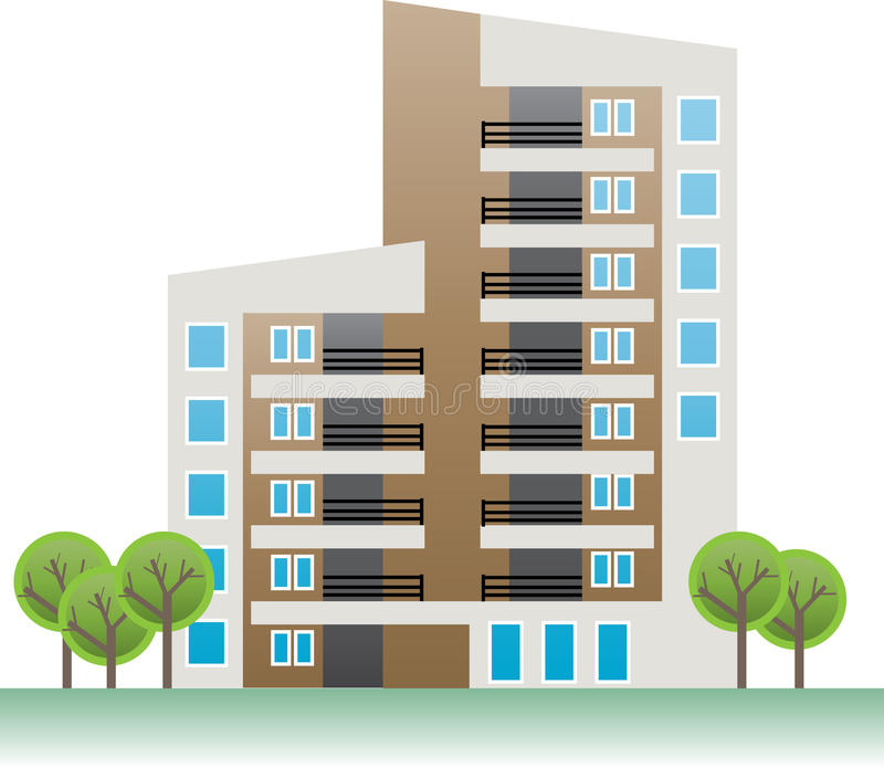 Apartment royalty free illustration