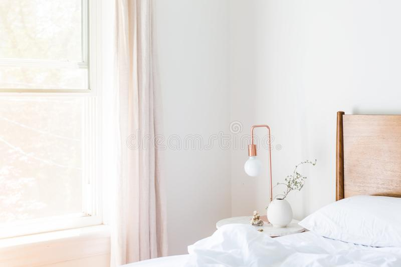 Apartment, Bed, Bedroom stock photography