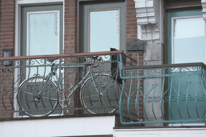 Apartment Bicycle royalty free stock image